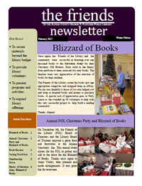 Friends Newsletter