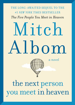 Book Cover Mitch Albom The Next Person You Meet in Heaven