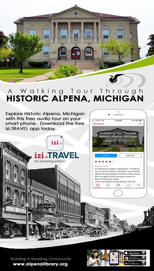 A Walking Tour Through Historic Alpena, Michigan